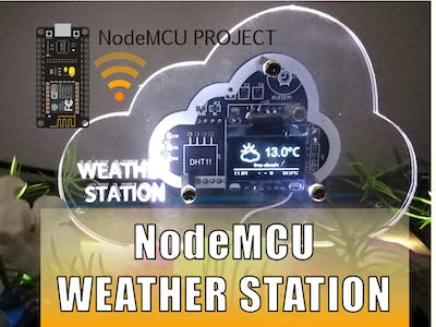 Online Weather Station (NodeMCU)