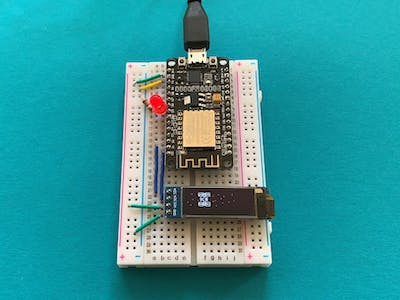 ISS Tracker with an ESP8266