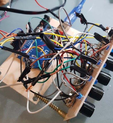 Drum machine circuits