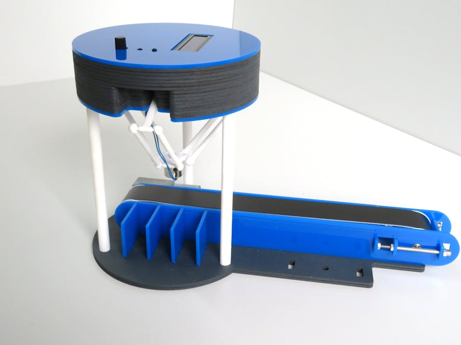 Conveyor System for Delta-Robot One