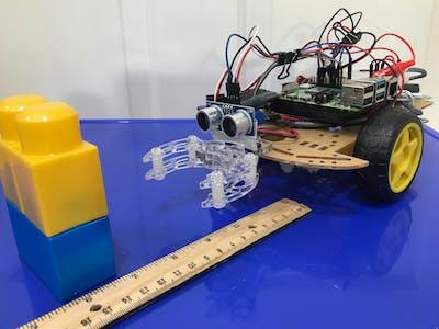 Distance Sensor for Raspberry Pi robot