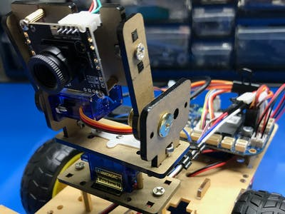 Pan Tilt Camera for Beaglebone Blue robot