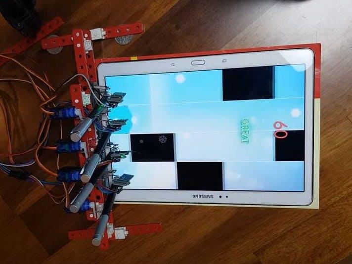 Piano Tiles automatic Robot