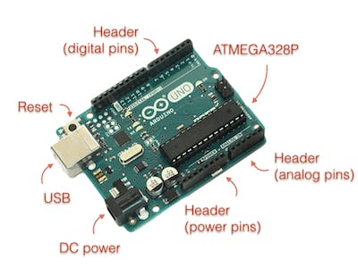 Types of hardware that you can connect to an Arduino board