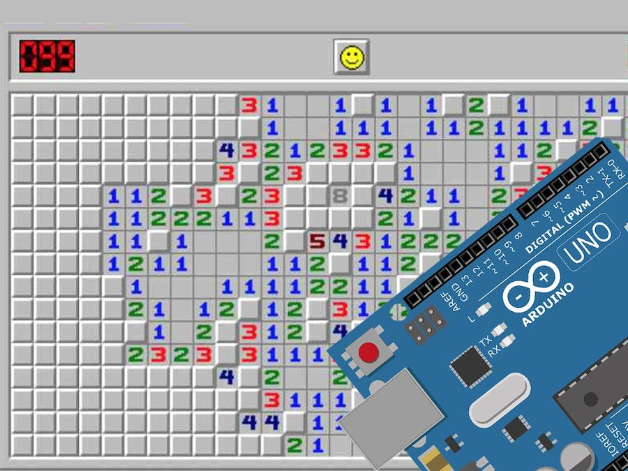 Minesweeper Game with Arduino