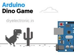Automated Dino Game using Arduino