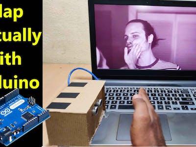 Slap Virtually with Arduino Leonardo – Fun Project