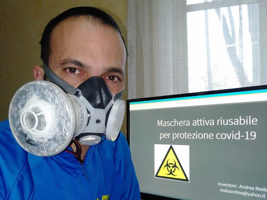 ANTI-COVID19 Active Mask