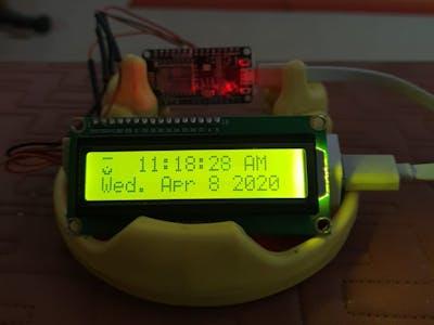 IOT Digital Clock
