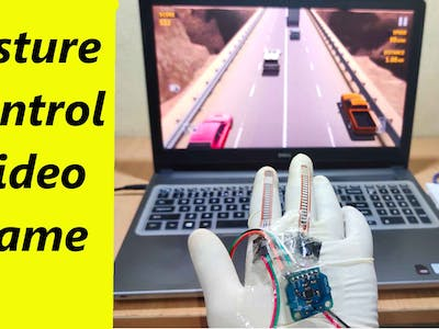 How to Make Gesture Control Game with Arduino Leonardo