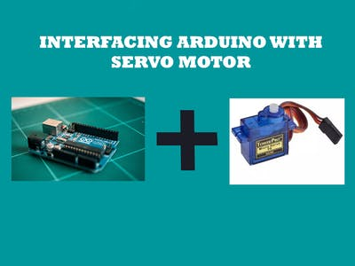 Servo Motor Interface with Arduino Uno