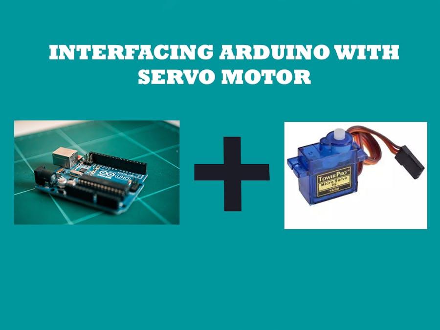 Servo Motor Interface with Arduino Uno