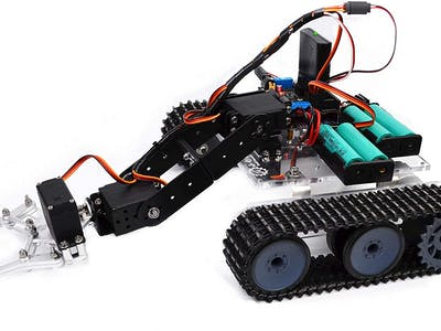 What Do I Build Next? RC Tank with 4DOF Arm