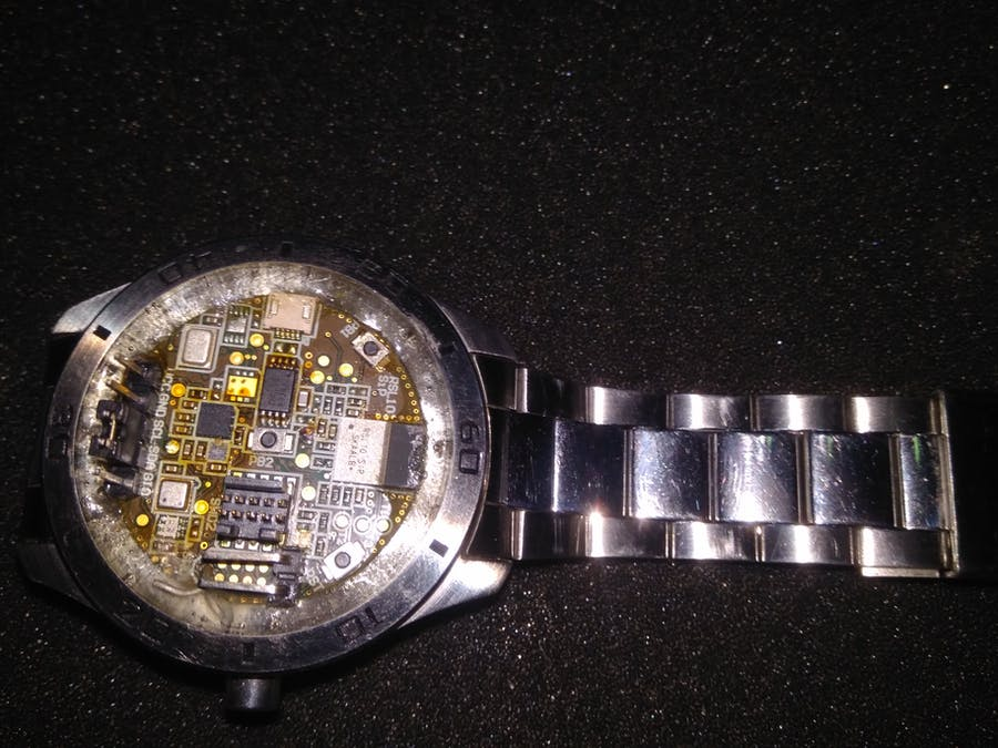 A Watch with No Face !