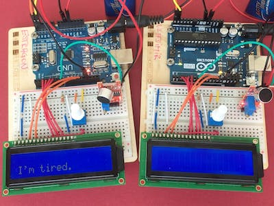 Waiting For Godot | Two Arduinos Talking to Each Other