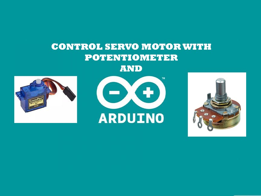 Control Servo motor with Arduino Uno and POT