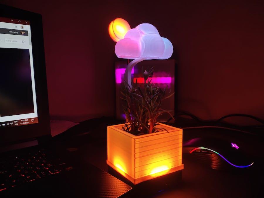 Unique Desk Weather Station