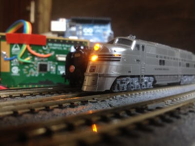 Control Your Model Railroad with the Slide of Your Finger!