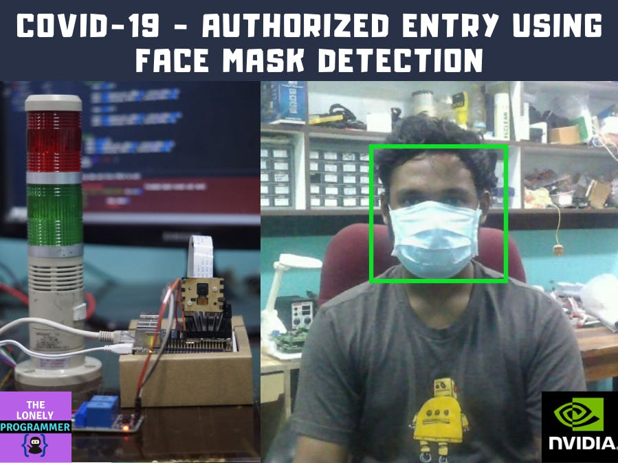 COVID-19 - Authorized Entry Using Face Mask Detection