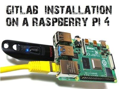 Installation of GitLab CE on a Raspberry Pi 4 (4GB)