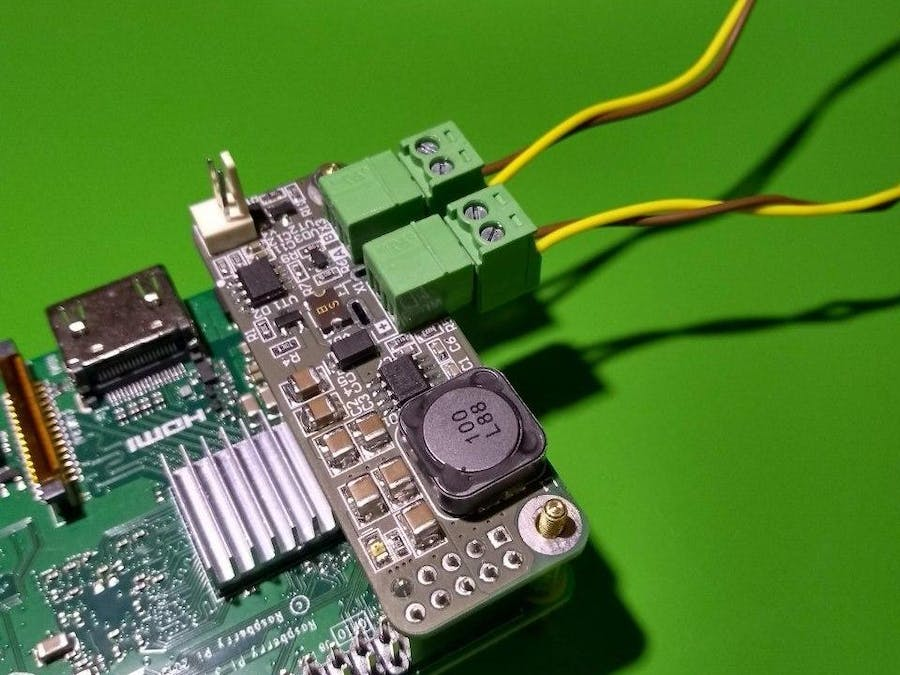 PIndustrial - Power Supply + RS-485 HAT for Raspberry
