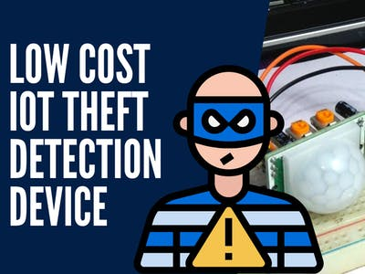LOW COST IOT THEFT DETECTION DEVICE (Pi Home Security)