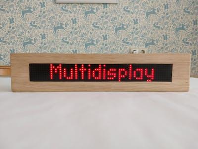 Tobers Multidisplay for ESP8266 and ESP32