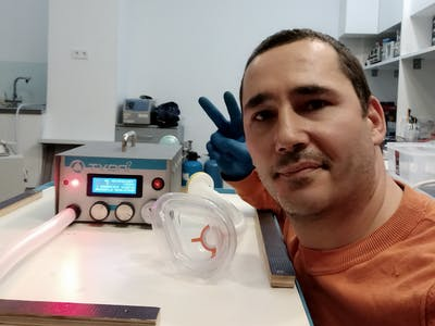 Open-Source COVID-19 Pulmonary Ventilator