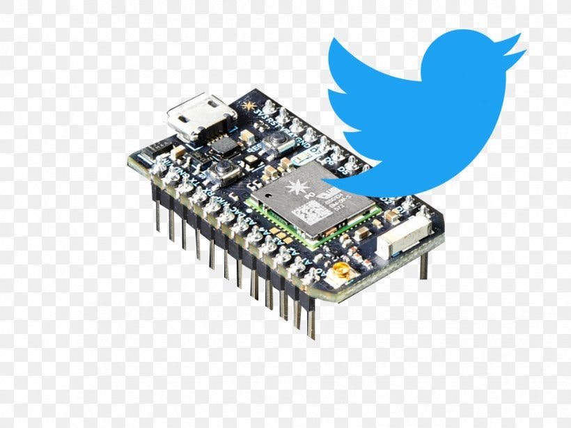 Photweet - Reading your Tweets on OLED Display using Photon