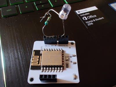 Morse Code Lamp