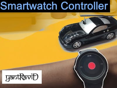 Smartwatch Controller for Arduino Car