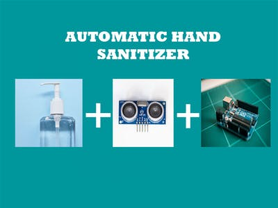 COVID - 19 Automatic Hand Sanitizer