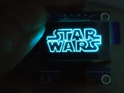 Raspberry Pi Based SSD1306 OLED Video Player