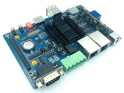 BananaPi BPI-F2P with Sunplus SP7021 Industrial control