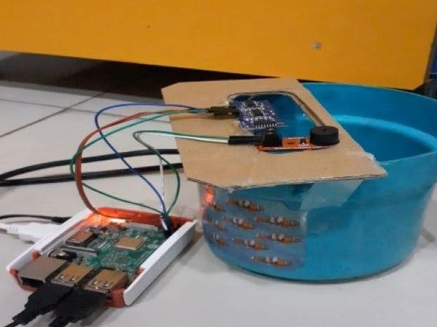 Water Level Monitor with Raspberry pi