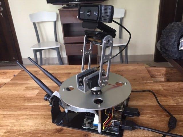 Object Detection AI Robot