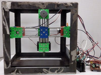 Belt-Driven Open Source Circuit Mill Using Low-Cost 3-D P...
