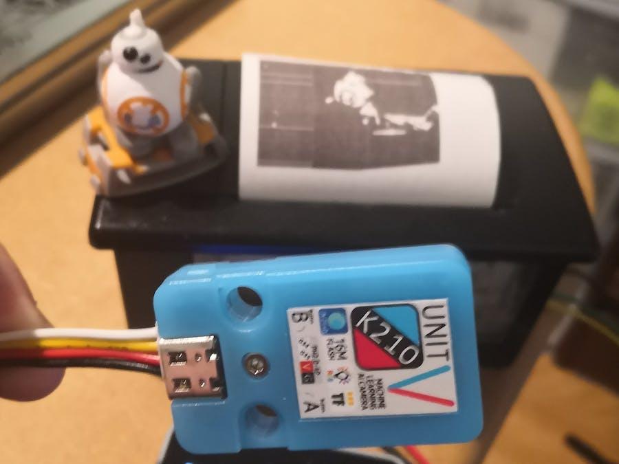 Instant Camera Printer StickV