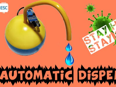 Automatic WATER/SANITIZER DISPENSING BALL