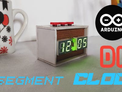 Diy Seven Segment Display Clock
