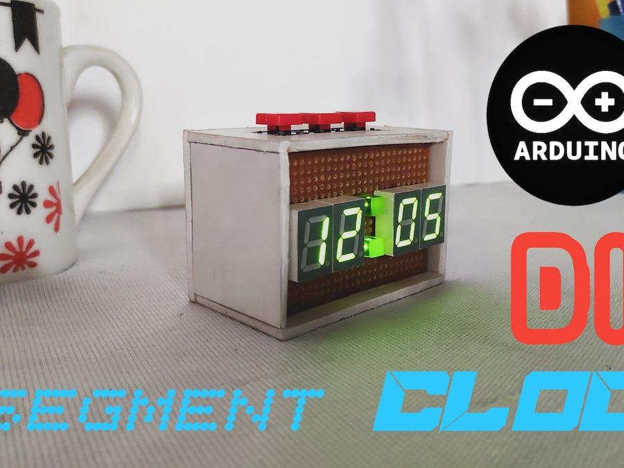 Diy Seven Segment Display Clock