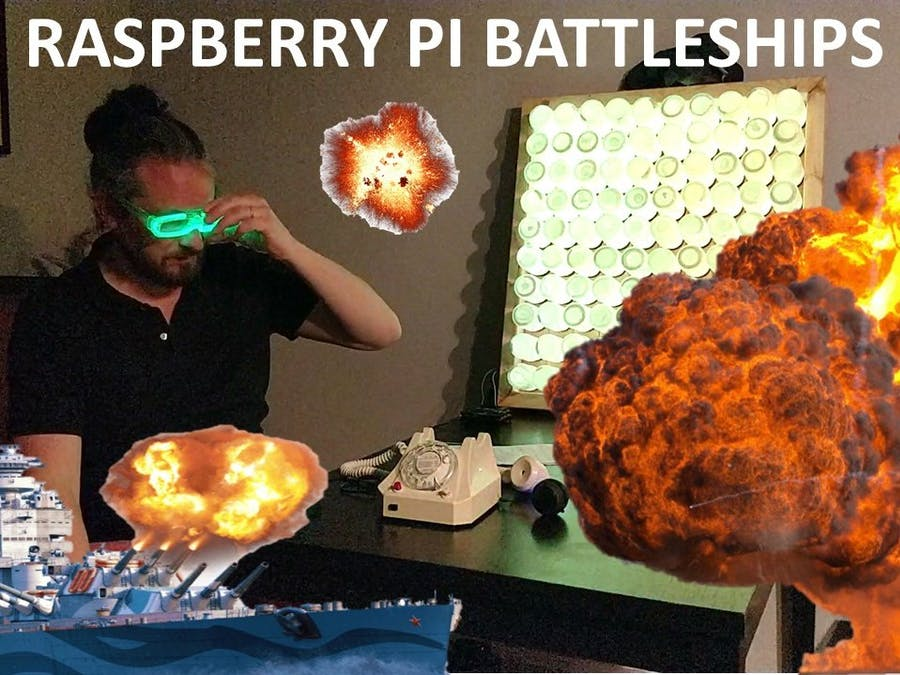 Raspberry Pi Battleships