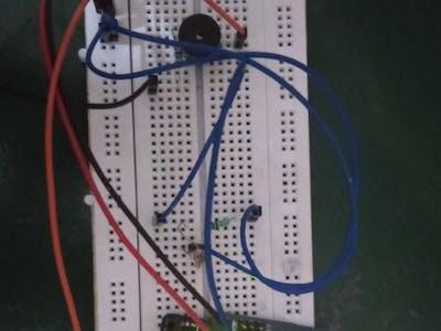 Arduino camera theft alaram