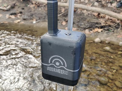 Aquametric - Cellular Based Stream Monitors