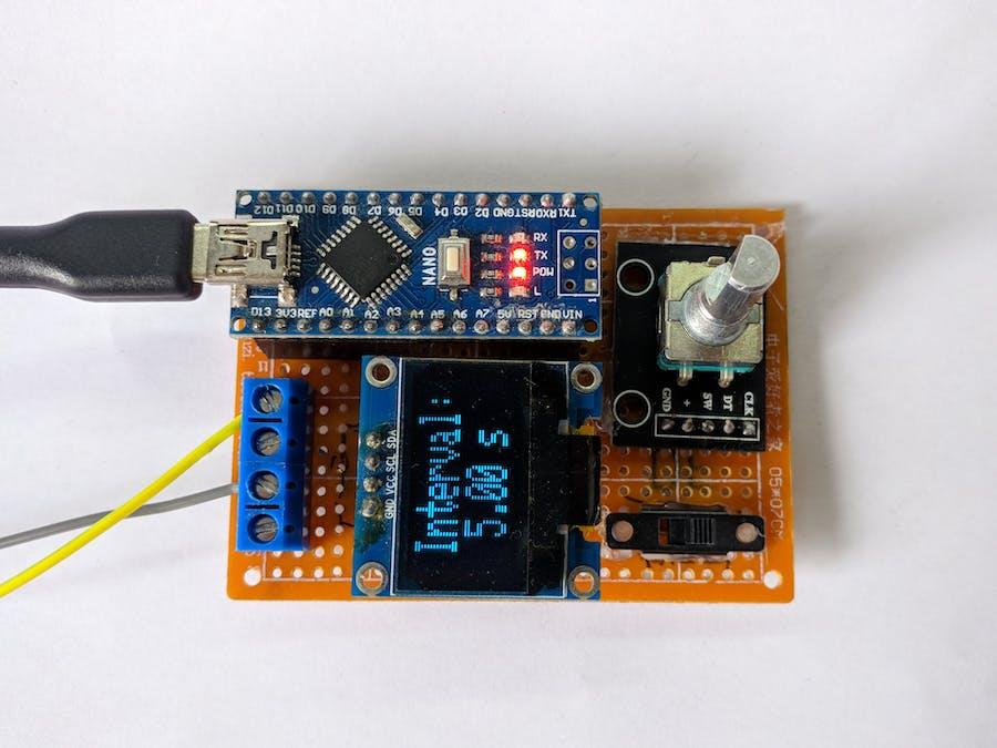 Arduino Intervalometer