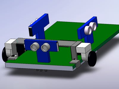 Micromouse Autonomous Vehicle Kit
