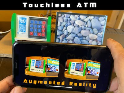 Touchless ATM using Augmented Reality