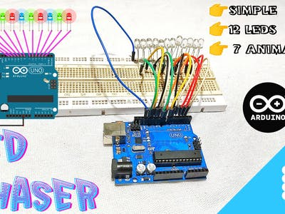 Simple Chaser Using Arduino
