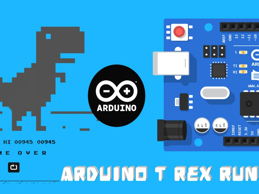 Automatic Google T Rex Game Controller Using Arduino