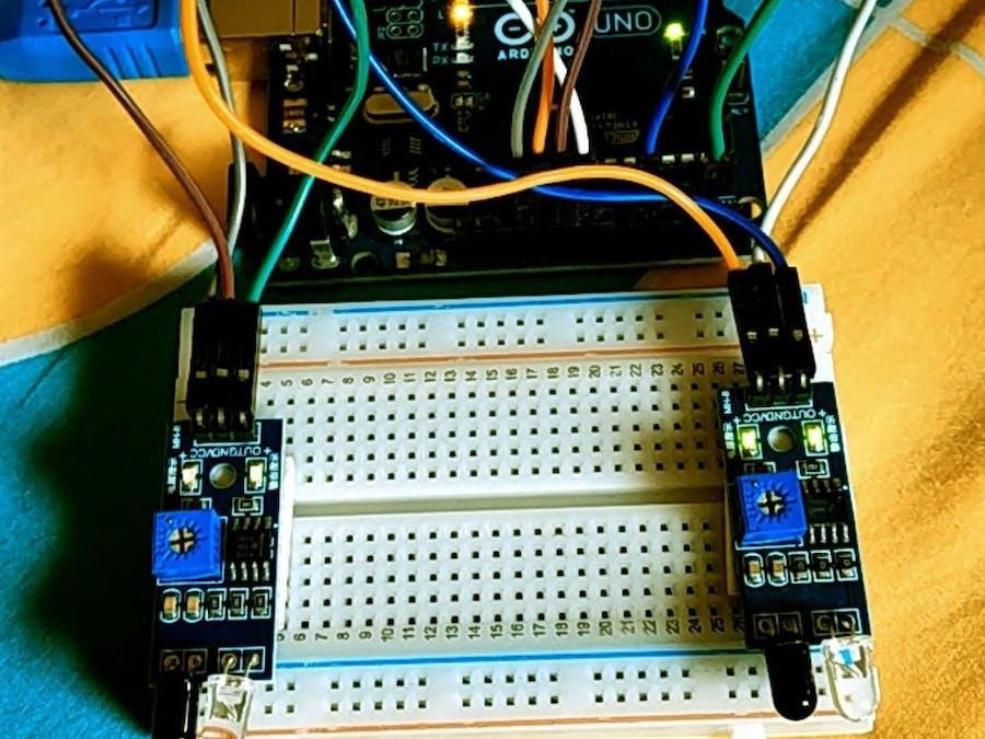 Arduino speed detector
